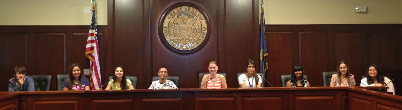 UB Students at Capitol