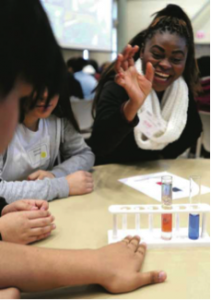 Students at INL Stem Event