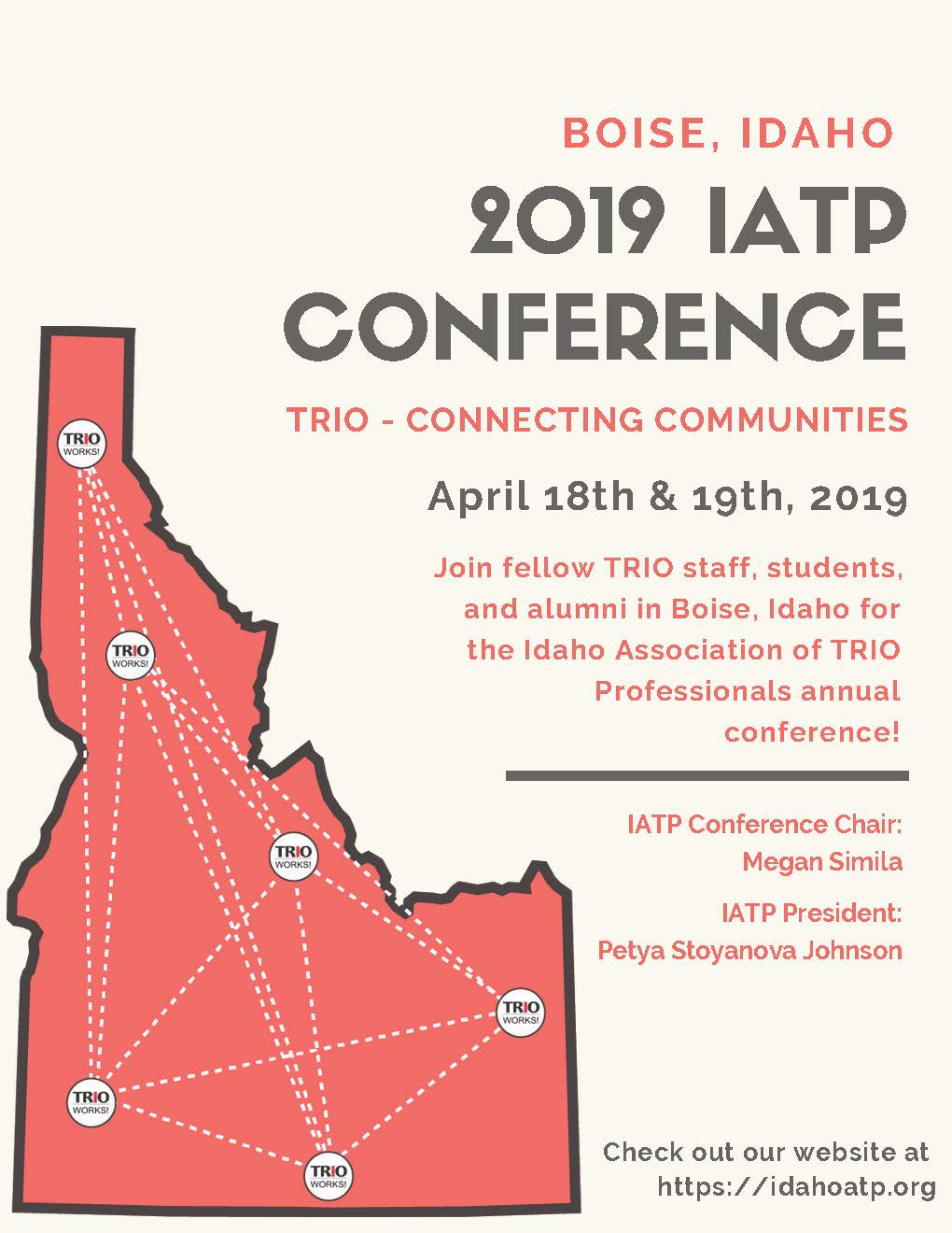 2019 IATP Conference Flyer