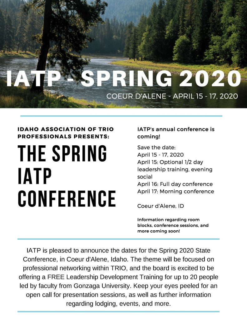 IATP Conference Save the Date